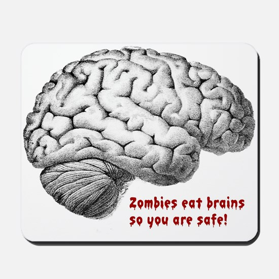 you are safe Mousepad