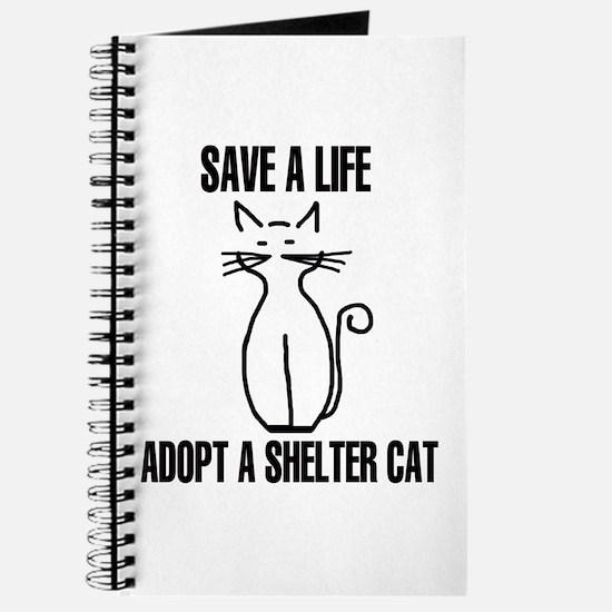 Adopt A Cat Journal