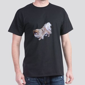 Pekingese Dog Dark T-Shirt
