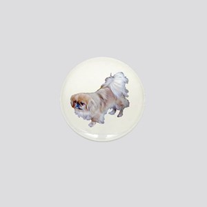 Pekingese Dog Mini Button