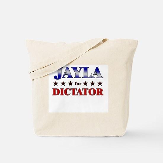 JAYLA for dictator Tote Bag