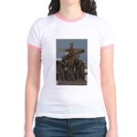 New Orleans' Historic Cemeter Jr. Ringer T-Shirt