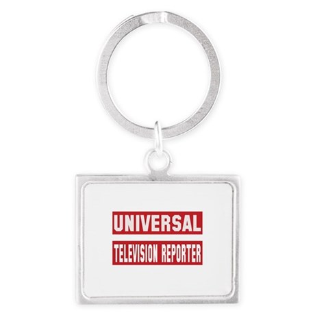 Universal Television Reporter Landscape Keychain