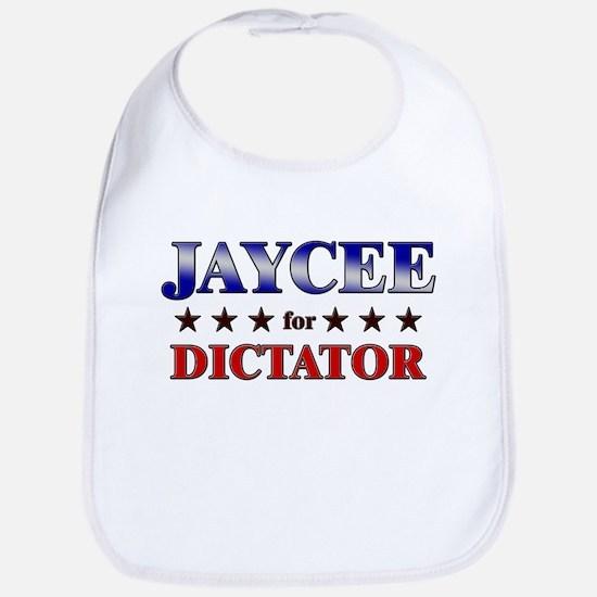 JAYCEE for dictator Bib
