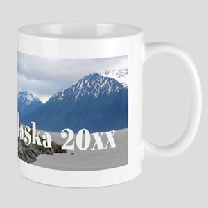 Alaska Train Photo Souvenir to Customiz Mug