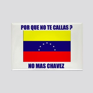 CHAVEZ CALLAS Rectangle Magnet