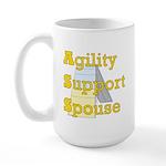 Agility Support Spouse Large Mug