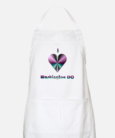 I Love Washington DC #2 BBQ Apron