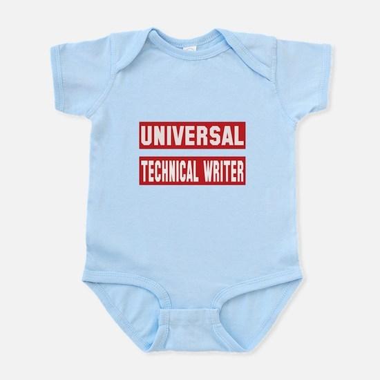 Universal Technical writer Baby Light Bodysuit
