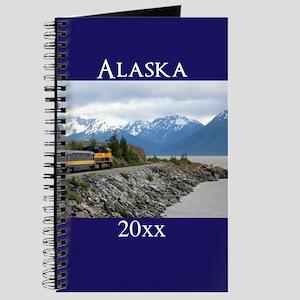 Alaska Vacation Personalized Photo Souveni Journal