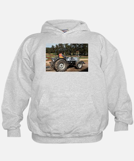 Tractor amongst the tulips, Dandenongs Hoodie