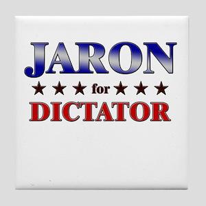 JARON for dictator Tile Coaster