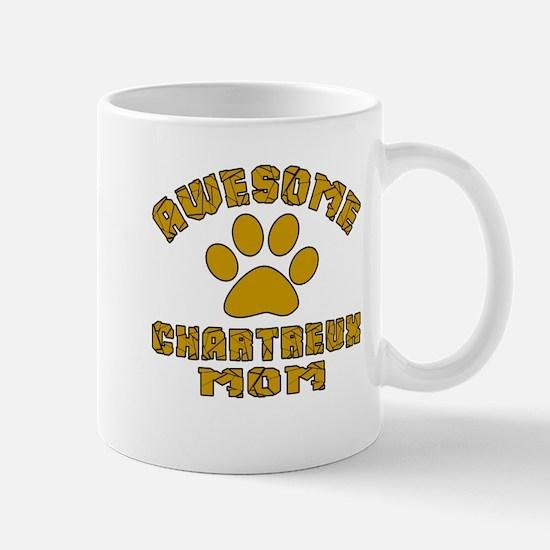 Awesome Chartreux Mom Designs Mug