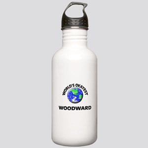 World's Okayest Woodwa Stainless Water Bottle 1.0L