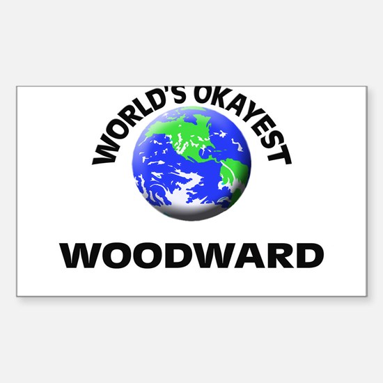 World's Okayest Woodward Decal