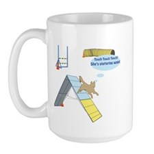 Touch Touch Touch Large Mug