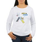 Touch Touch Touch Women's Long Sleeve T-Shirt