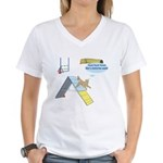 Touch Touch Touch Women's V-Neck T-Shirt