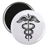 Asclepius Staff - Medical Symbol Magnet