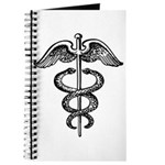 Asclepius Staff - Medical Symbol Journal