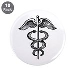 Asclepius Staff - Medical Symbol 3.5