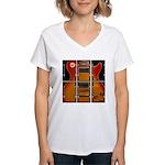 Les film more music Women's V-Neck T-Shirt