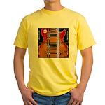 Les film more music Yellow T-Shirt