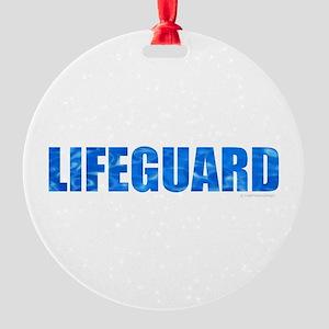 Lifeguard Round Ornament