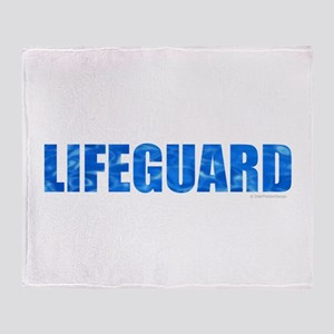 Lifeguard Throw Blanket