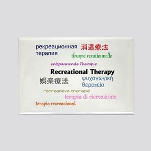 RT in Many Languages Rectangle Magnet
