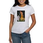 Fairies / Std Poodle(w) Women's T-Shirt