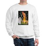 Fairies / Std Poodle(w) Sweatshirt