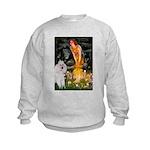 Fairies / Std Poodle(w) Kids Sweatshirt