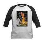 Fairies / Std Poodle(w) Kids Baseball Jersey