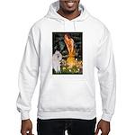 Fairies / Std Poodle(w) Hooded Sweatshirt