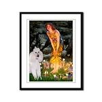 Fairies / Std Poodle(w) Framed Panel Print
