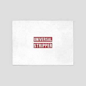 Universal Stripper 5'x7'Area Rug