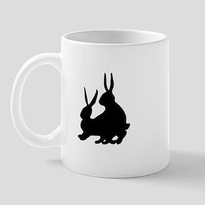 Pair of Rabbits Mug