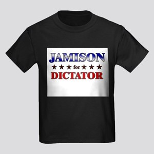 JAMISON for dictator Kids Dark T-Shirt