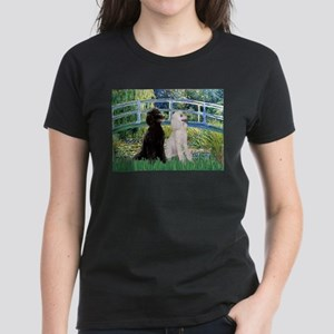 Bridge / Std Poodle (pr) Women's Dark T-Shirt