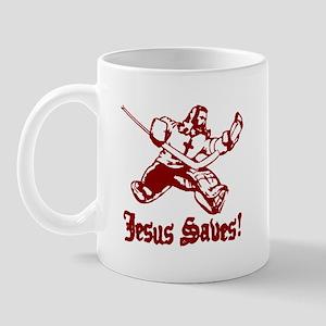 Jeses Saves Goal Mug