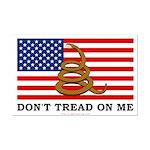 Don't Tread on Me Mini Poster Print