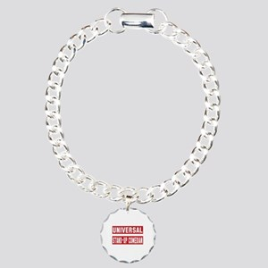 Universal Stand-up comed Charm Bracelet, One Charm
