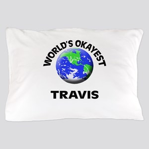 World's Okayest Travis Pillow Case