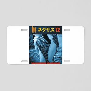 Sexy Nekusasu 12 JP Fem Ang Aluminum License Plate