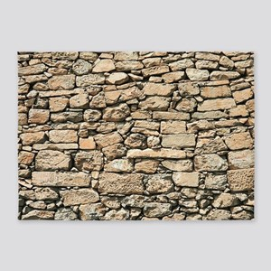 Stone Wall BM 5'x7'Area Rug