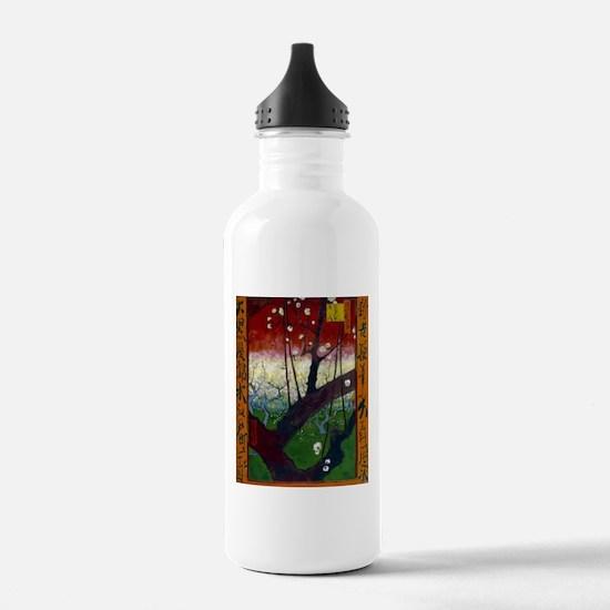 Vincent van Gogh Flowe Water Bottle