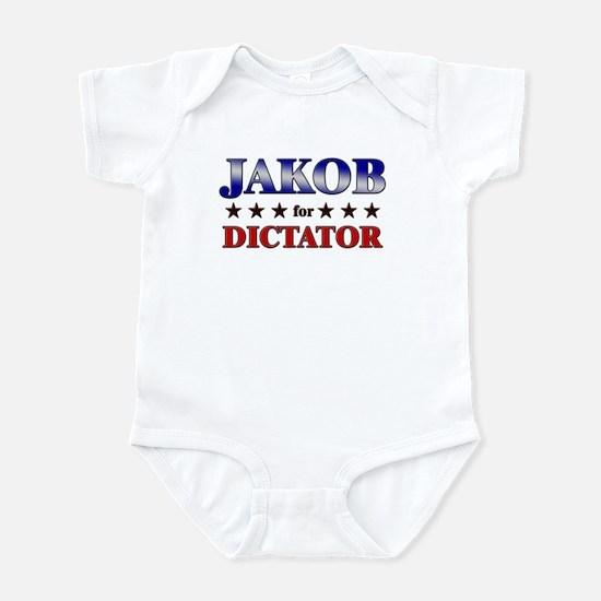 JAKOB for dictator Infant Bodysuit