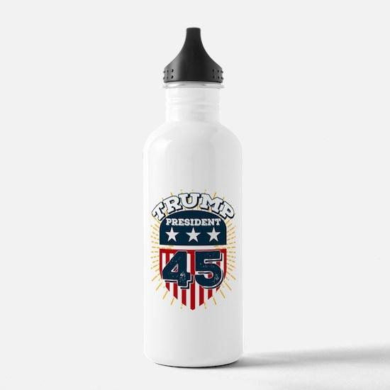 Trump for President Water Bottle