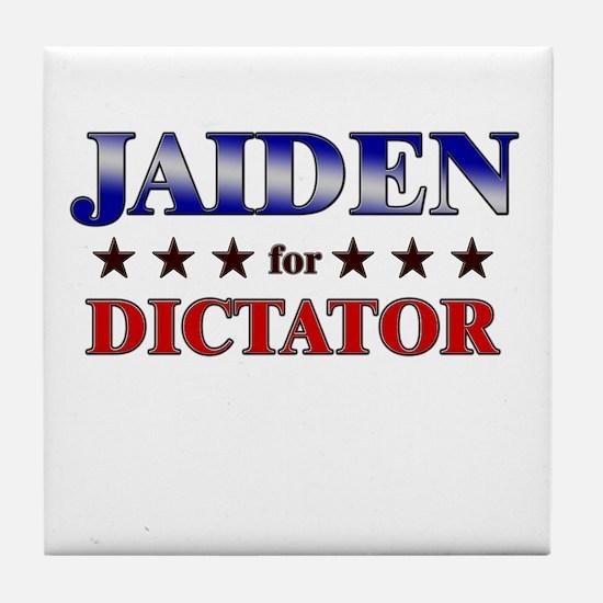 JAIDEN for dictator Tile Coaster